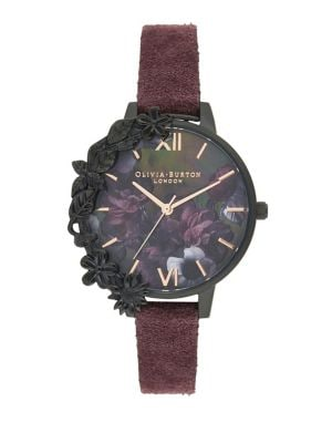 d928c724e Classic Stainless Steel Strap-Watch BLACK. QUICK VIEW. Product image. QUICK  VIEW. Olivia Burton