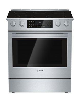 Cuisinière électrique encastrable 76 cm HEI8054C Série 800 de Bosch - acier inoxydable photo