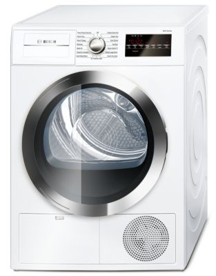 800 Series WTG86402UC 24-inch Compact Condensation Dryer - White photo