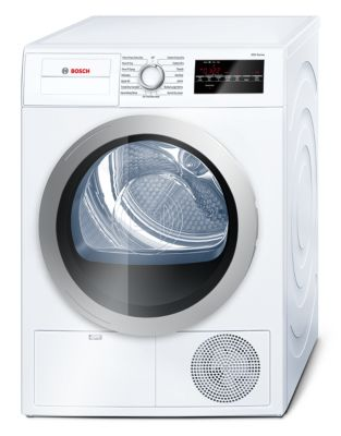 500 Series WTG86401UC 24-inch Compact Condensation Dryer - White photo