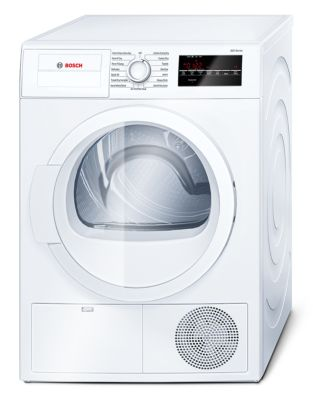 300 Series WTG86400UC 24-inch Compact Condensation Dryer - White photo