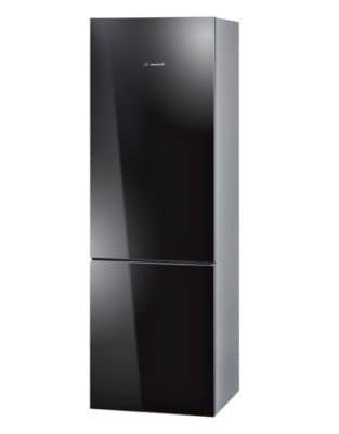800 Series B10CB80NVB 24 inch Glass Door Counter-Depth Refrigerator in Black photo