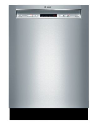 SHE4AV55UC 24-inch Built-in Dishwasher with Recessed Handle - Stainless Steel photo