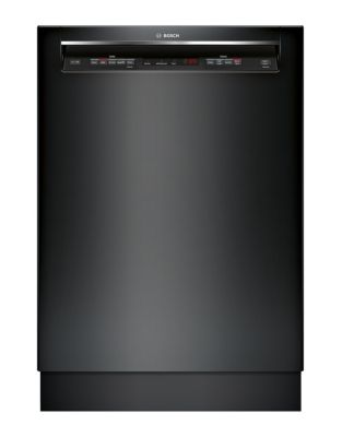 300 Series SHEM63W56N 24-inch Recessed Handle Dishwasher - Black photo