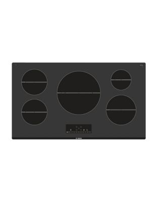 NIT5668UC 36 Induction Cooktop 500 Series - Black photo