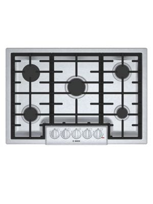NGM8056UC-30-inch 5 Burner Gas Cooktop- Stainless Steel photo