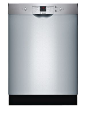 SHEM3AY55N-100 Series Dishwasher 6+2 24 Inch Recessed Handle Dishwasher-Stainless steel photo