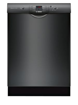 SHEM3AY56N-100 Series Dishwasher 6+2 24 Inch Recessed Handle Dishwasher-Black photo