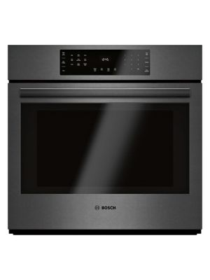 800 Series - 30-inch Single Wall Oven-Black Stainless Steel photo
