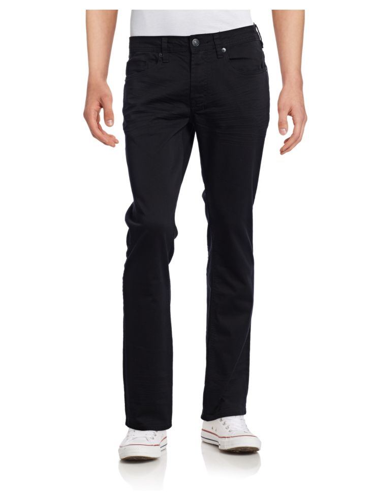 Six X Straight Stretch Jeans by Buffalo David Bitton