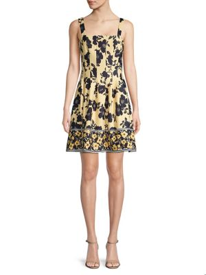 ff86af5e9a6 QUICK VIEW. Vince Camuto. Floral Fit   Flare Dress