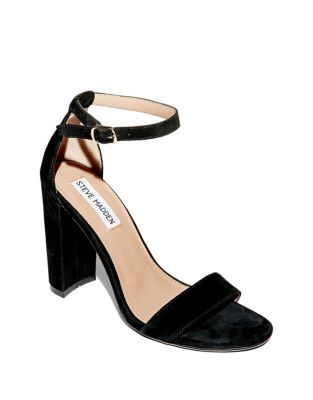 ddd1fe21788 Carrson Suede Ankle Strap Heels COPPER. QUICK VIEW. Product image. QUICK  VIEW. Steve Madden