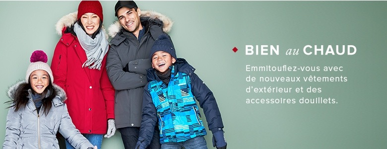 Manteaux d hiver, vestes d automne, foulards, tuques et autres vêtements 6ba087a5b429