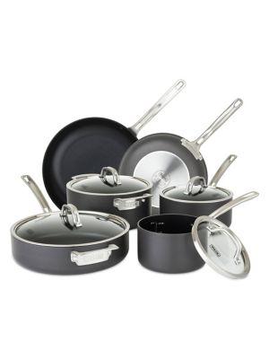 Hard Anodized Nonstick 10-Piece Cookware Set photo
