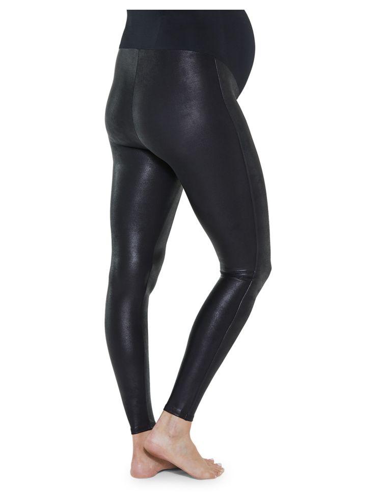 241e0b6ca89f2 Spanx - Mama Faux Leather Leggings - thebay.com