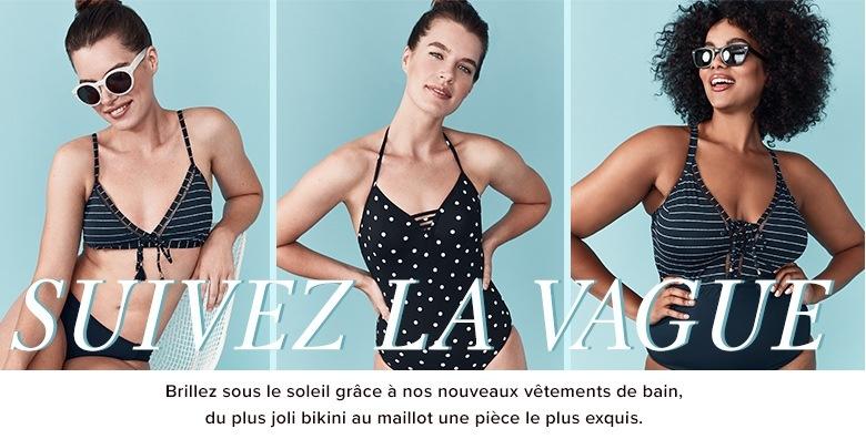 Femme - Vêtements pour femme - Maillots de bain et cache-maillots -  labaie.com 8e2f7159e7c