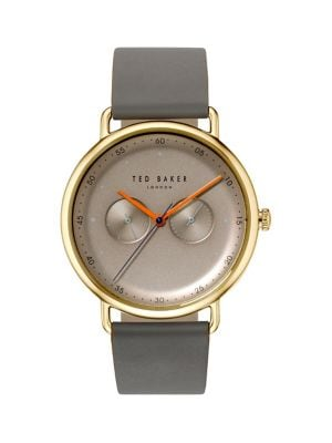 732442a60 QUICK VIEW. Ted Baker London. Multifunction Stainless Steel   Leather-Strap  Watch