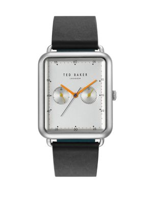 0612fae3931a2d QUICK VIEW. Ted Baker London. Isaac Multifunction Stainless Steel Leather-Strap  Watch