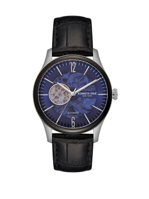 4f3eb03ce99 Product image. QUICK VIEW. Kenneth Cole New York. Automatic KC50224001 Leather  Strap Watch