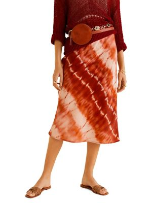 fab52175156 Printed Midi Skirt RED. QUICK VIEW. Product image