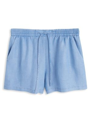d06fcee123 Smart Gathered Shorts BLUE. QUICK VIEW. Product image