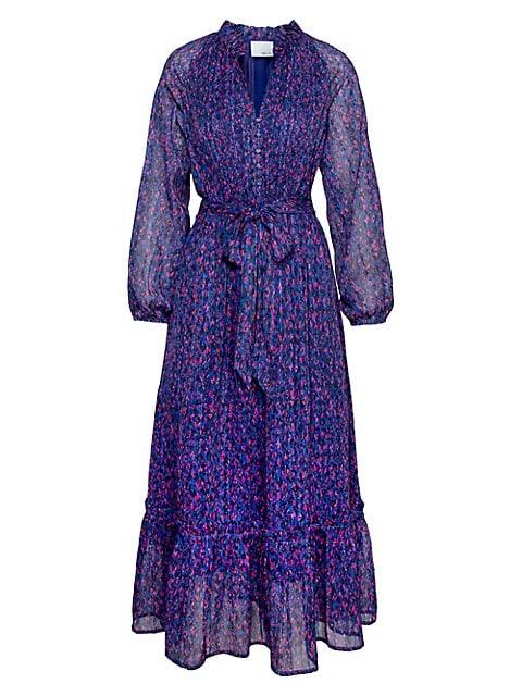 Adelyn Rae Vivian Chiffon Maxi Dress