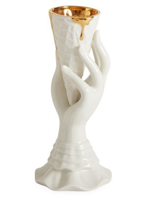 UPC 600090971978 product image for Gilded Muse I-Scream Porcelain Vase | upcitemdb.com