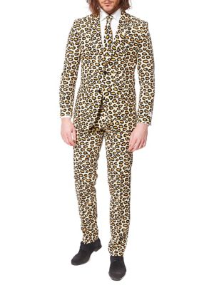 a5a77991fb QUICK VIEW. OppoSuits. The Jag Printed Slim-Fit Suit