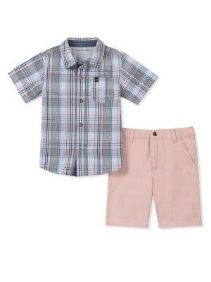 d2c03d6e893d QUICK VIEW. Calvin Klein. Little Boy s Two-Piece Top   Pants Set
