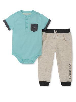 deffcd48eb4b QUICK VIEW. Calvin Klein. Baby Boy s Two-Piece Bodysuit   Pants Set