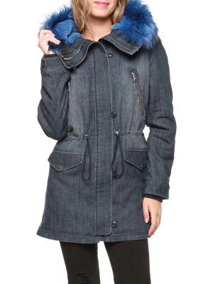 Femme - Vêtements pour femme - Manteaux et vestes - Parkas et ... 5e51af69586