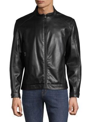 75a654ce348 Men - Men s Clothing - Coats   Jackets - Leather   Suede Jackets ...