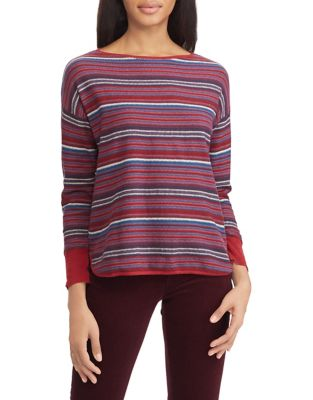 883862bd2f99 QUICK VIEW. Chaps. Striped Cotton Sweater