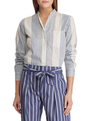 ca04e3c7794 QUICK VIEW. Lauren Ralph Lauren. Cotton Button-Down Shirt