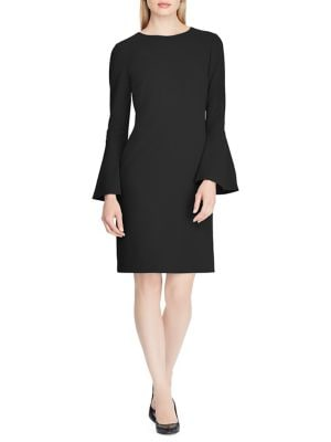 f1d55457881f5 QUICK VIEW. Lauren Ralph Lauren. Jersey Bell-Sleeve Shift Dress
