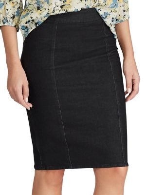def4ecdd68 Product image. QUICK VIEW. Chaps. Classic Denim Pencil Skirt