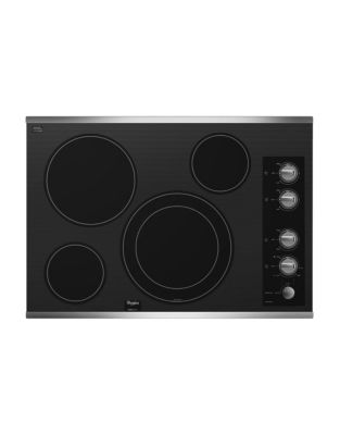 G7CE3034XS 30-inch Electric Easy-Wipe Ceramic Glass Cooktop- Stainless Steel photo