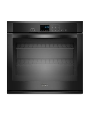 WOS51EC7AB 4.3 cu. ft. Single Wall Oven with AccuBake Temperature Management System- Black photo