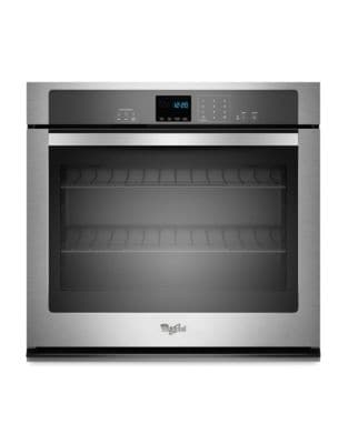 WOS51EC0AS 5.0 cu. ft. Single Wall Oven with EasyView Extra-Large Window- Stainless Steel photo