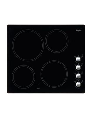 WCE52424AB 24-inch Electric Ceramic Glass Cooktop with Easy-Wipe Ceramic Glass- Black photo