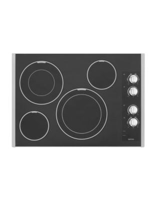 MEC9530BS 30-inch Electric Cooktop with Two Dual-Choice Elements- Stainless Steel photo