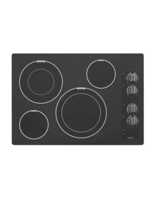 MEC9536BB 36-inch Electric Cooktop with Dual-Choice Elements- Black photo