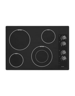 Table de cuisson Zlectrique noire de 76ÊcmÊMEC7430BB avec ZlZment SpeedÊHeat photo