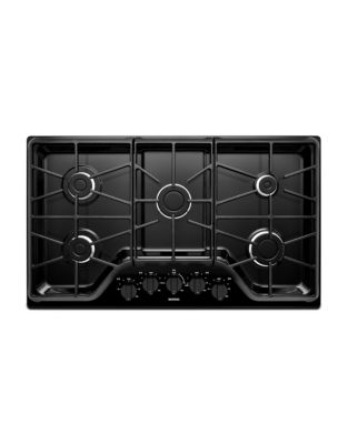 MGC7536DB - 36-inch 5-burner Gas Cooktop with Power Burner Black photo