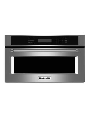 KMBP107ESS 27-inch Built in Microwave Oven with Convection Cooking - Stainless Steel photo