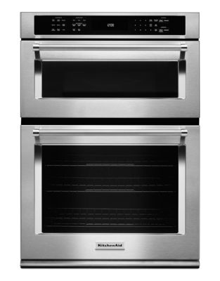 KOCE500ESS 30-inch Combination Wall Oven with Even-Heat True Convection (Lower Oven) - Stainless Steel photo