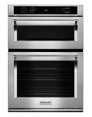 KOCE507ESS 27-inch Combination Wall Oven with Even-Heat True Convection (Lower Oven) - Stainless Steel photo