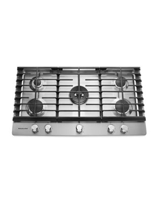 KCGS550ESS 30-inch 5-Burner Gas Cooktop in Stainless Steel photo