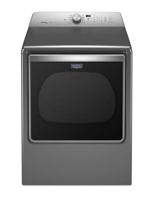 YMEDB855DC 8.8 cu. ft. Front Load Electric Dryer with High Torque Motor- Metallic Slate photo