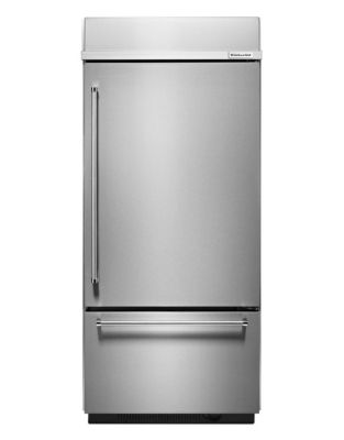 KBBR306ESS -36 inch Wide 20.9 Cu. Ft, Right Hand Refrigerator w/ Platinum Interior-Stainless Steel photo